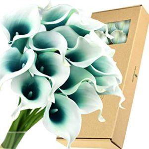 FiveSeasonStuff Real Touch Calla Lilies Artificial